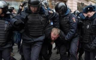 Будут ли применяться санкции со стороны полиции?