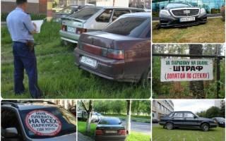 Законно ли дважды выписали штраф за парковку на газоне?
