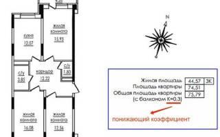 Как считается балкон в общей площади квартиры?