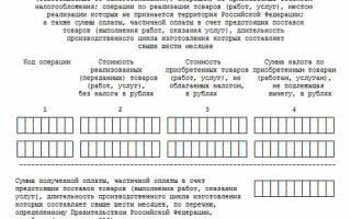 Внереализационные доходы в декларации по ндс в разделе 7
